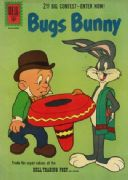 Vintage Children's book cover poster - Bugs Bunny